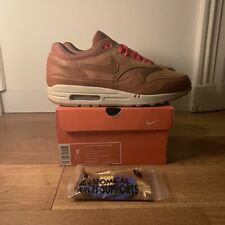 Nike Air Max 1 Hazelnut 8.5 US DS 2005 Factory Laced Atmos BRS Urawa OG Red