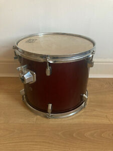 """13"""" Rack Tom Drum In Dark Red"""
