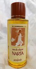 Rare NARTA eau de cologne AMBREE AMBER 250 ml / 8.4 oz FRANCE NEW