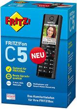 AVM FRITZ!Fon C5 DECT-Komforttelefon (für FRITZ Box, hochwertiges Farbdisplay, H