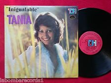 LP TANIA - Inigualable - Top Hits THS-7058 - COLOMBIA press - CUMBIA (EX-/EX-)
