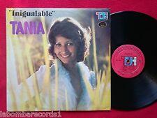 TANIA DE VENEZUELA Inigualable LP Top Hits COLOMBIA Latin (EX-/EX-) ---Ju