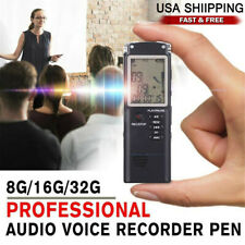 Voice Activated Mini Spy Digital Sound Audio Recorder Dictaphone MP3 Player US
