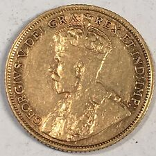 1913 CANADA $5.00 Gold Coin - High Quality Scans #C989