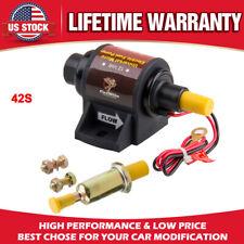 Universal 42S Electric Fuel Pump Gasoline Cylinder Carburetor 28 GPH  2-3.5 PSI