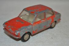 Lion Car DAF 44 Variomatic red in all original condition made in Holland