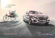 Mercedes-Benz 125 years of innovation - Broschüre/Brochure  -  since 1886 - 2011