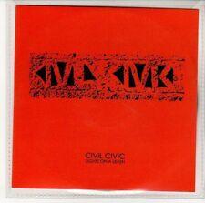 (EN410) Civil Civic, Lights On A Leash - 2010 DJ CD