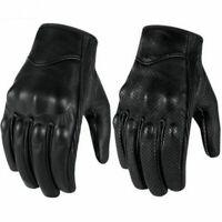 Motorradhandschuhe Handschuhe Motorrad Leder Rollerhandschuhe Lederhandschuhe