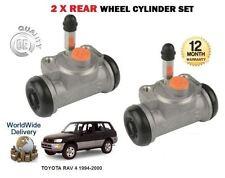 FOR TOYOTA RAV 4 1994-2000 NEW 2 X REAR BRAKE WHEEL CYLINDERS SET LEFT + RIGHT
