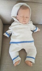 Reborn Doll 18 Inch Nines D'Onil weighted nice detail boy doll magnetic dummy