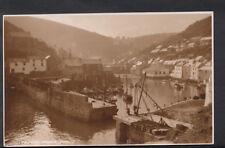 Cornwall Postcard - Polperro Harbour  RS4719