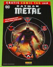 GRATIS COMIC TAG 2018 - BATMAN METAL / PANINI COMICS