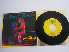 SP 45 TOURS VINYLE , MICHEL POLNAREFF , GLORIA , TOKYO JAPON . VG / EX . RARE .