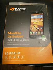 New listing Boost Mobile Lg Realm Brand New!