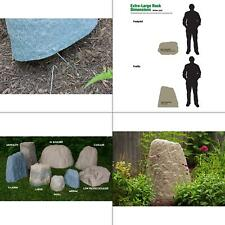 extra-large resin landscape rock   cover fake well lightweight garden natural