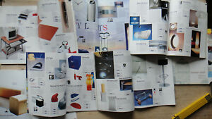 Design-Kataloge 1998 - 2000   7x Philip MORRIS - Lifestyle & Trend