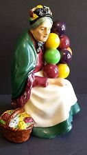 ROYAL DOULTON THE OLD BALLOON SELLER WOMAN VINTAGE FIGURINE NO 1315  RETIRED