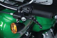 Kuryakyn Gloss Black Zombie Levers for Harley-Davidson XL 04-13 K1092
