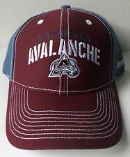 NHL Colorado Avalanche Strap Back Hat Cap OSFA - NEW