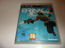 PlayStation 3  PS 3  Brink (uncut)