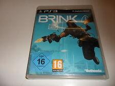 PlayStation 3  PS 3  Brink (uncut)