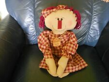 Country Look Cloth Annie Like Doll