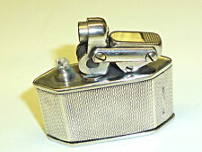 "KW (KARL WIEDEN) ""ELISORN AUTO-TANK"" LIGHTER W. STERLING SILVER CASE - GERMANY"
