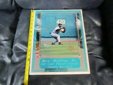Ken Griffey Jr Autographed Photo Frame Plaque Upper Deck