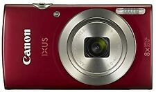 Canon IXUS 185/Elph 180 Red Digital Compact Camera (International Model No