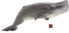 More details for sperm whale large deluxe sealife toy model 387210 by mojo animal planet new
