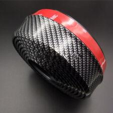 2.5M Carbon Fiber Effect Car Front Bumper Spoiler Splitter Rubber Lip Protector