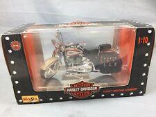 1:10 '97 MAISTO FLSTS Heritage Springer Harley Davidson Motor Cycle NEW!
