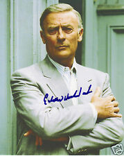 Edward Woodward Autograph Signed PP Photo Poster