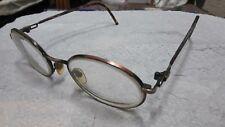 """EYE Q Cindy Copper Eyeglasses FRAMES 51[]18 140 Narrow 5"""" wide"""