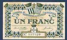 FRANCE - RENNES & MALO UN FRANC Pirot n° 105. 3 du 25-8-1915. en TTB  N° 898620
