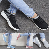 Womens Trainers Mesh Sport Running Sneakers Slip Tennis Breathable Sock Shoes