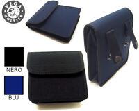 Borsetta borsa Vega cordura multiuso 2G68 per cinturone Polizia - BLU O NERO