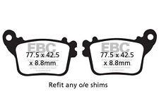 FIT YAMAHA YZF- R1M 15>16 EBC Organic Pad Set Rear Right