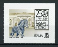 Italy Architecture Stamps 2019 MNH Veterinary Medicine Faculty Horses 1v S/A Set