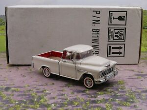 Franklin Mint 1955 Chevrolet Cameo Pickup 1:24 scale diecast model vgc boxed