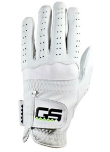 GS Golf Glove 100% PREMIUM New Men's Cabretta Leather!