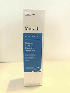 Murad Acne Control Outsmart Acne Clarifying Treatment 50ml New