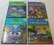 Lot of 4 Disney's A Bug's Life Children's Books Hardcover