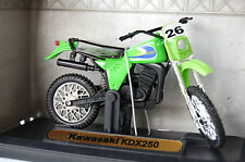 KAWASAKI  KDX250 1/18th  MODEL  MOTORCYCLE