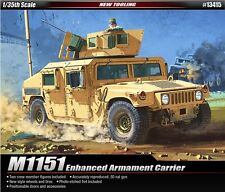 1/35 ACADEMY M1151 HUMVEE ENHANCED ARMAMENT CARRIER / ACADEMY MODEL KIT