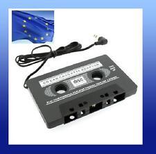 Adaptador CASSETTE coche reproductor mp3 mp4 ipod casete casette musica audio