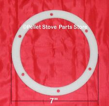"WHITFIELD PELLET EXHAUST MOTOR GASKET [PP5201]  Profile -  7""   61050041"