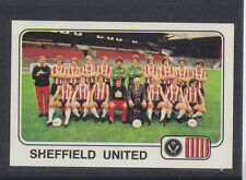 Panini - Football 79 - # 416 Sheffield United Team Group