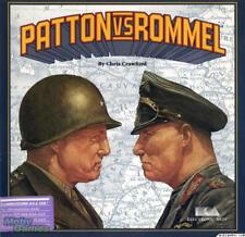 Patton vs versus Rommel Commodore 64 c64 strategy game